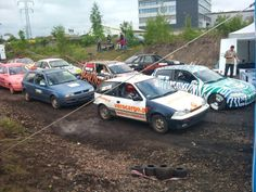 Wrak-race silesia start