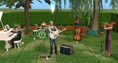 Mod The Sims - Custom Instruments by Proxy GUID *Updated 8-22-08