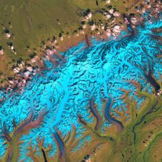 Earth's fractal branching patterns, National Parks from Space: Denali, Alaska