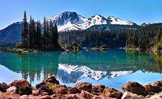 Garibaldi lake. BC, CAN