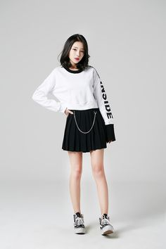 Korean fashion, skirt