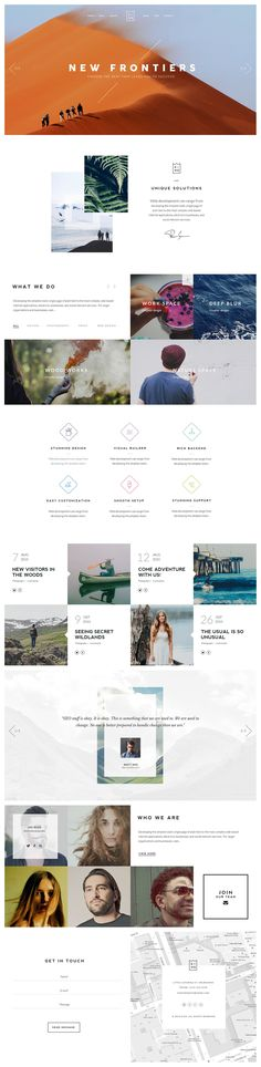 KING - WordPress Theme on Behance