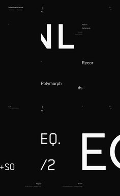 Art direction and website design concept for an upcoming electronic music label located in Netherlands, hopefully to launch in 2017. Being an umbrella kind of company from the very beginning, Polymorph Records is a home place for many small, independent r…