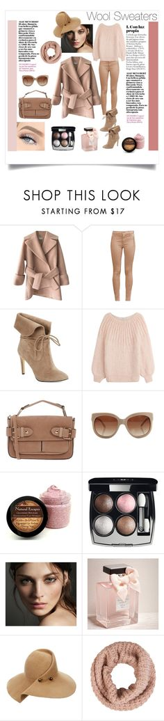 """""""Wool"""" by daniela-candita ❤ liked on Polyvore featuring Carven, French Connection, 424 Fifth, Mes Demoiselles..., Morgan De Toi, STELLA McCARTNEY, Chanel, Burberry, Abercrombie & Fitch and Eugenia Kim"""