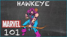 He Never Misses His Target - Hawkeye - MARVEL 101 - Watch the video --> http://www.comics2film.com/marvel/he-never-misses-his-target-hawkeye-marvel-101/  #Marvel