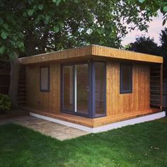 - Lush Design and Construction Modern Bungalow, Log Cabins, Sheds, Lush, Construction, Outdoor Structures, Concept, Gallery, Garden