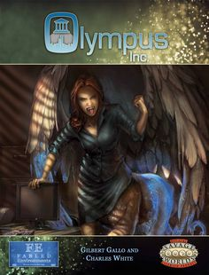 Olympus Inc. RPG for Savage Worlds