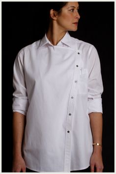Shannon Reed Women's Chef Jacket Asym