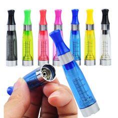 Random Color 7Pcs E-Cigarette Atomizer (EGO-CE5 1.6ml Dual-hole No Cotton Thread)