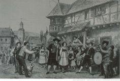 Une noce dans le Kochersberg, Frederic Lix after Pabst BNF