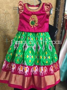 Girls Frock Design, Kids Frocks Design, Baby Frocks Designs, Baby Dress Design, Kids Dress Wear, Kids Gown, Dresses Kids Girl, Kids Outfits, Baby Lehenga