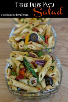 Three Olive Pasta Salad