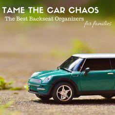 Backseat Organizers   Car Hacks For Moms   Car Organizers For Parents   Car Organization   MomTrends.com