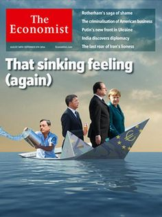 Copertina Economist (ANSA foto)