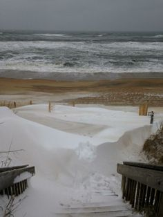 Rare OBX NC snow Jan 29 2014