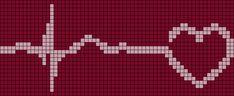 Alpha pattern #6068 | BraceletBook Bead Loom Patterns, Square Patterns, Perler Patterns, Beading Patterns, Cross Stitch Patterns, Friendship Bracelet Patterns, Friendship Bracelets, Stitches Medical, Plastic Canvas Coasters