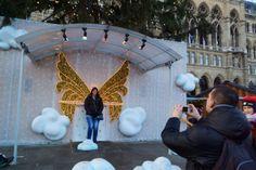 Angels - Rathaus Christmas Market in Vienna