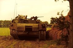 """(Forward) Abrams behind haystack in field maneuvers """"Autumn Moment"""" 1984 """"Iron Knights"""" Military Photos, Military History, M1 Abrams, Battle Tank, Cold War, Marine Corps, Usmc, Us Army, Military Vehicles"""