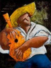 Trovando en Las Marias (oil on canvas) by Oscar Ortiz on The Bazaar. Buy Trovando en Las Marias (oil on canvas)s by Oscar Ortiz online!