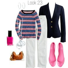 Love Navy and Pink