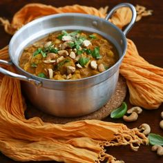 Indian coconut and cashew curry