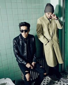 Epik High Dj tukutz & Mithra JIn - Vogue Magazine December Issue '14