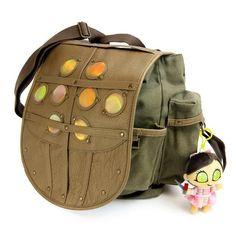 Pair Bond Big Daddy Little Sister Bioshock Waterproof Leather Folded Messenger Nylon Bag Travel Tote Hopping Folding School Handbags