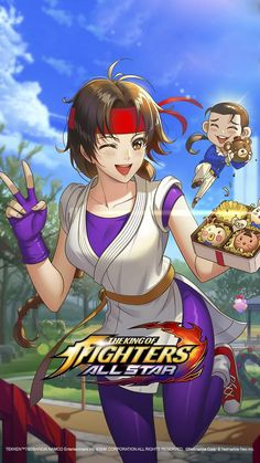 Art Of Fighting, Fighting Games, Street Fighter 1, Snk King Of Fighters, Character Wallpaper, Star Art, Chibi, Mobile Legends, Ecchi Girl
