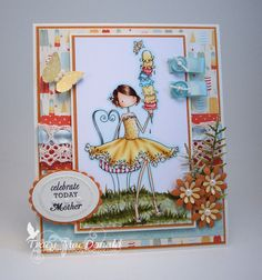 Mom loves ice cream by TracyMac - Cards and Paper Crafts at Splitcoaststampers