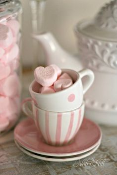 Super Sweet Pink Heart Marshmallows!!