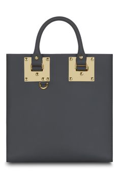 Cameron gave the Chinese first lady Peng Liyuan a charcoal Sophie Hulme Albion square bag as a gift during an official visit in London.