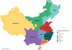 How Population of Different Countries Fit into China.