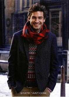 Robert Konjic, Swedish model, born to Croatian parents, b. 1976