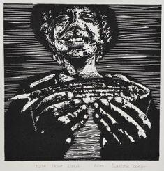Saatchi Art: My first fish - Limited Edition 2 of 200 Printmaking by Branislav Kuncak