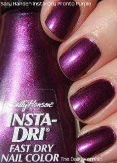 Sally Hansen Insta Dri- Pronto Purple