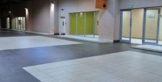 Ceragran's tiling work at Peter Mokaba Stadium Garage Floor Tiles, Tile Floor, Tiling, Flooring, Room, Furniture, Home Decor, Bedroom, Decoration Home