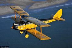 In action: The plane was flown by Robert Redford's character in the Oscar winning film Out of Africa