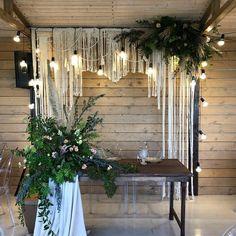 Pinterest White Wedding Arch, Wooden Wedding Arches, Metal Wedding Arch, Pink And White Weddings, Rustic Wedding Flowers, Woodland Wedding, Floral Wedding, Wedding Colors, Samantha Wedding
