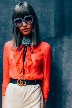 """Milán Fashion Week Alessandro Michele (director creativo de Gucci) : """"Soy un amante de las cosas bonitas"""" . ..."""