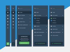 Navigation for new internal tool cta icons dropdown account dashboard tool navigation nav Web Design, App Ui Design, Mobile App Design, Design Websites, Flat Design, Icon Design, Dashboard App, Dashboard Design, Interface Web