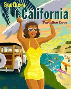 Southern California * Paradise Cove by Michael Crampton