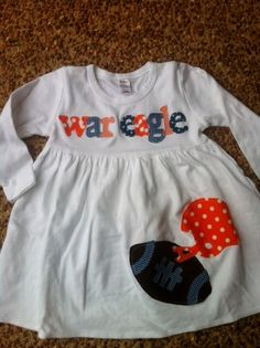 Football Dress - Toddler Dress- You Choose Your Team Mascot and Colors b030ad771