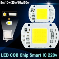 No need driver LED Chip 50W 30W 20W 10W 5W 220V Input Smart IC high lumen led bulb lamp For DIY LED Floodlight Spotlight