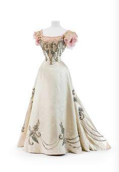 Robe de bal à deux pièces, ca. 1895