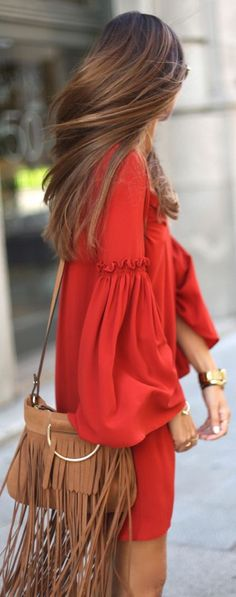 Street Chic. women fashion outfit clothing stylish apparel @roressclothes closet ideas