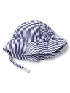 1e2745f7629 Gap Baby Floral Floppy Hat Bicoastal Blue Toddler Girl Fall