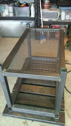 This is a welding table that I designed with inspiration from many different tables that I found on a variety of sites. I wanted a table that would be easy and...