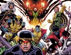 XMen redo by *EdMcGuinness on deviantART