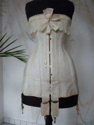 antique corset HB