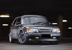 """Saab Classics (@saabclassics) on Instagram: """"Great shot of a superb Saab 900 Turbo with 16' Super Aero rims. Odoardo grey is such a nice color…"""""""